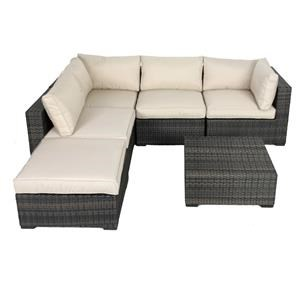Elliston Place Milano Milano 5-Piece Outdoor Sectional