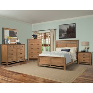 Cresent Fine Furniture Camden King Bedroom Group