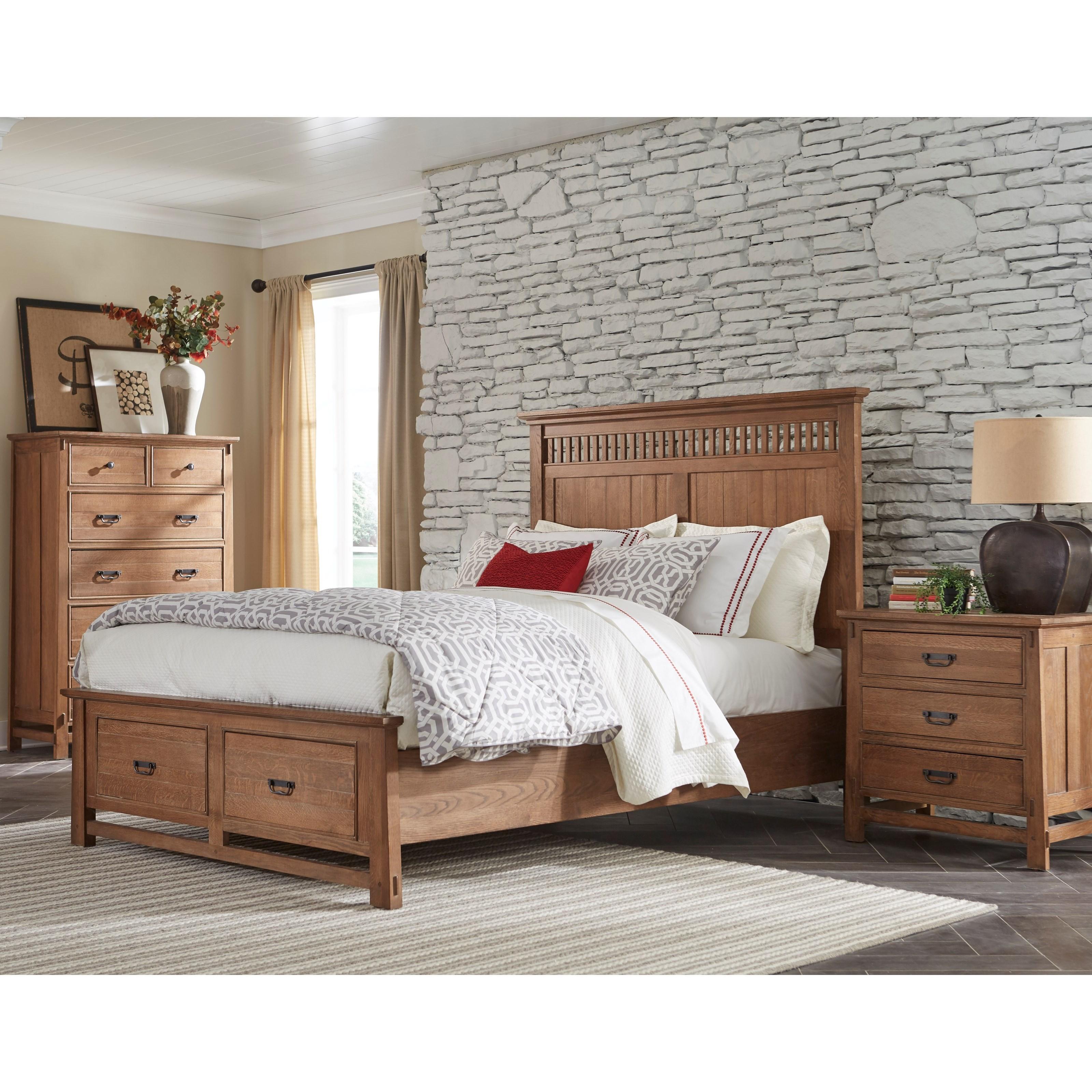 Cresent Fine Furniture Camden King Bedroom Group 3 - Item Number: 202 K Bedroom Group 3