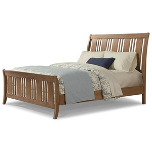 Cresent Fine Furniture Camden California King Sleigh Bed