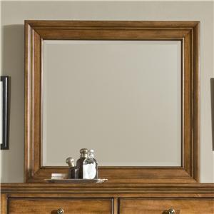 cresent fine furniture cresent classics casual living small mirror