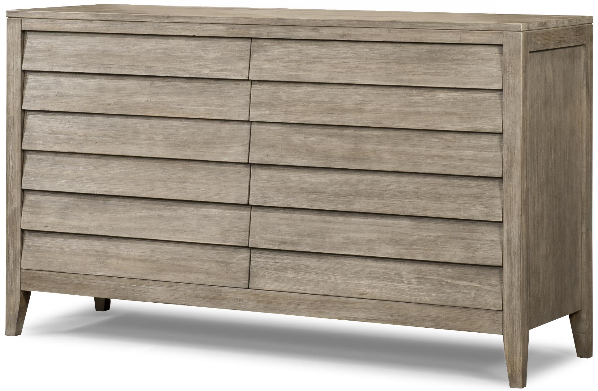 Cresent Fine Furniture Corliss Landing Dresser - Item Number: 5601