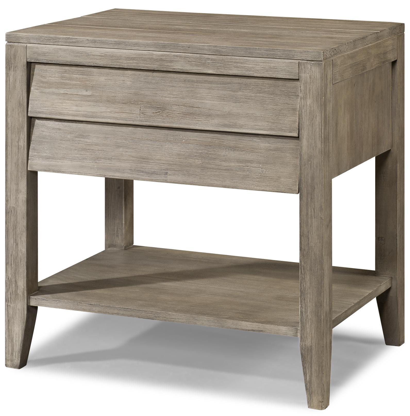 Cresent Fine Furniture Corliss Landing Powered Nightstand - Item Number: 5612