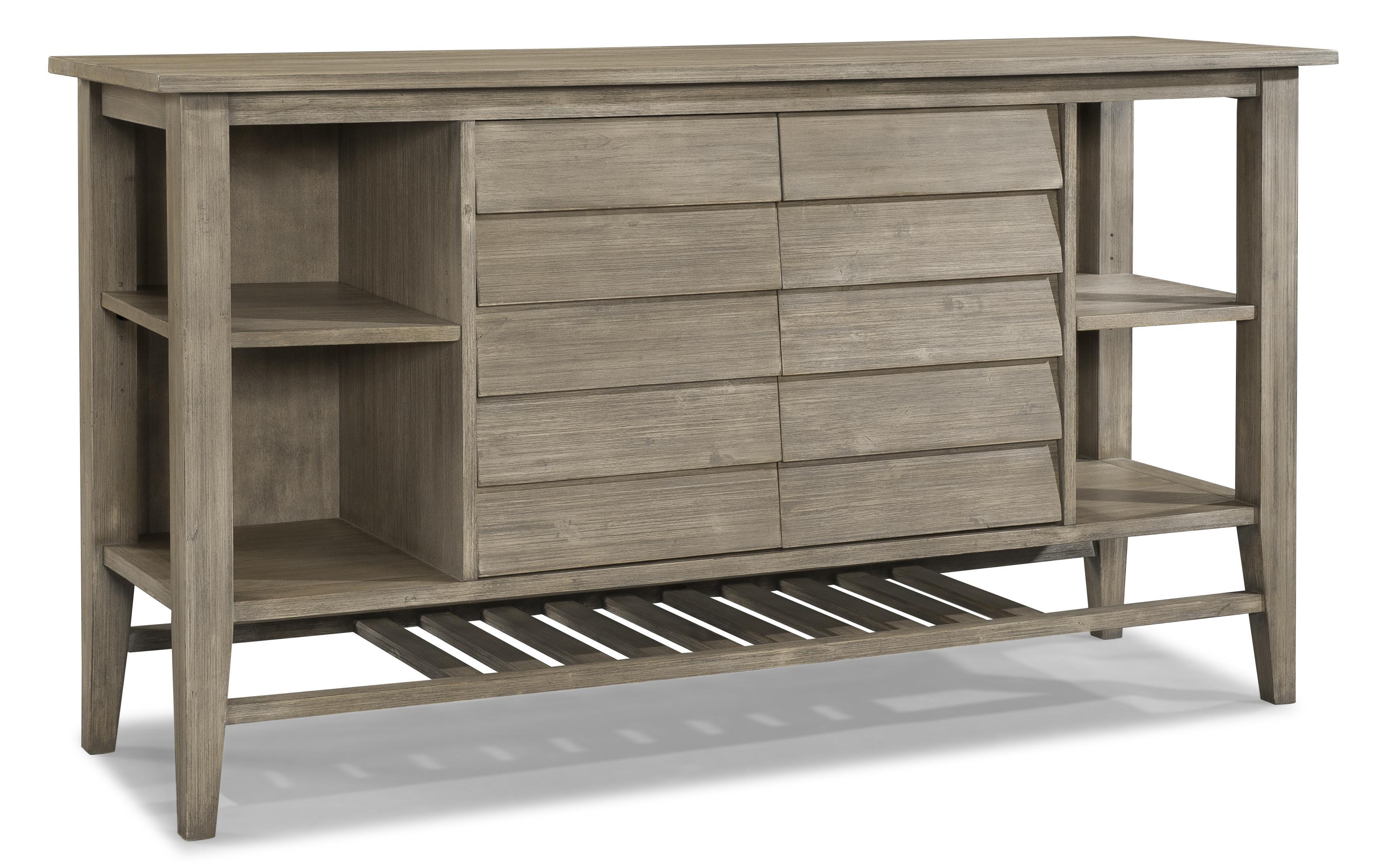 Cresent Fine Furniture Corliss Landing Two Door Sideboard - Item Number: 5652