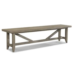 Cresent Fine Furniture Corliss Landing Bench