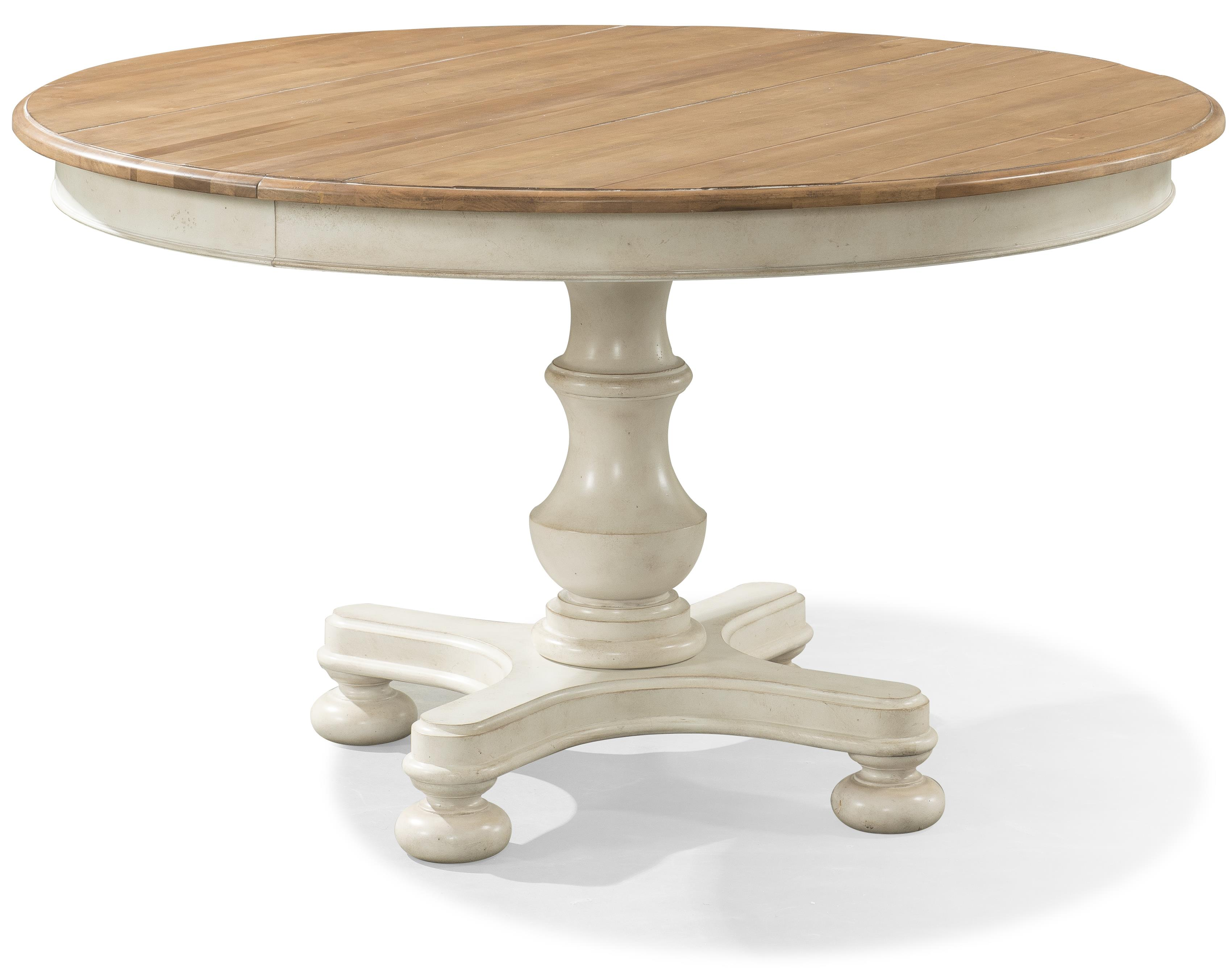 Cresent Fine Furniture Cottage Round Table  - Item Number: 201-151+151P