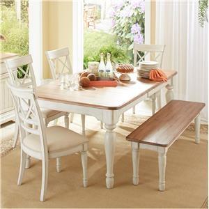 Cresent Fine Furniture Cottage Bench