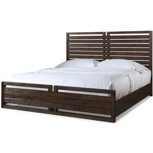 Cresent Fine Furniture Hampton California King Storage Bed