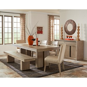 Cresent Fine Furniture Larkspur Casual Dining Room Group