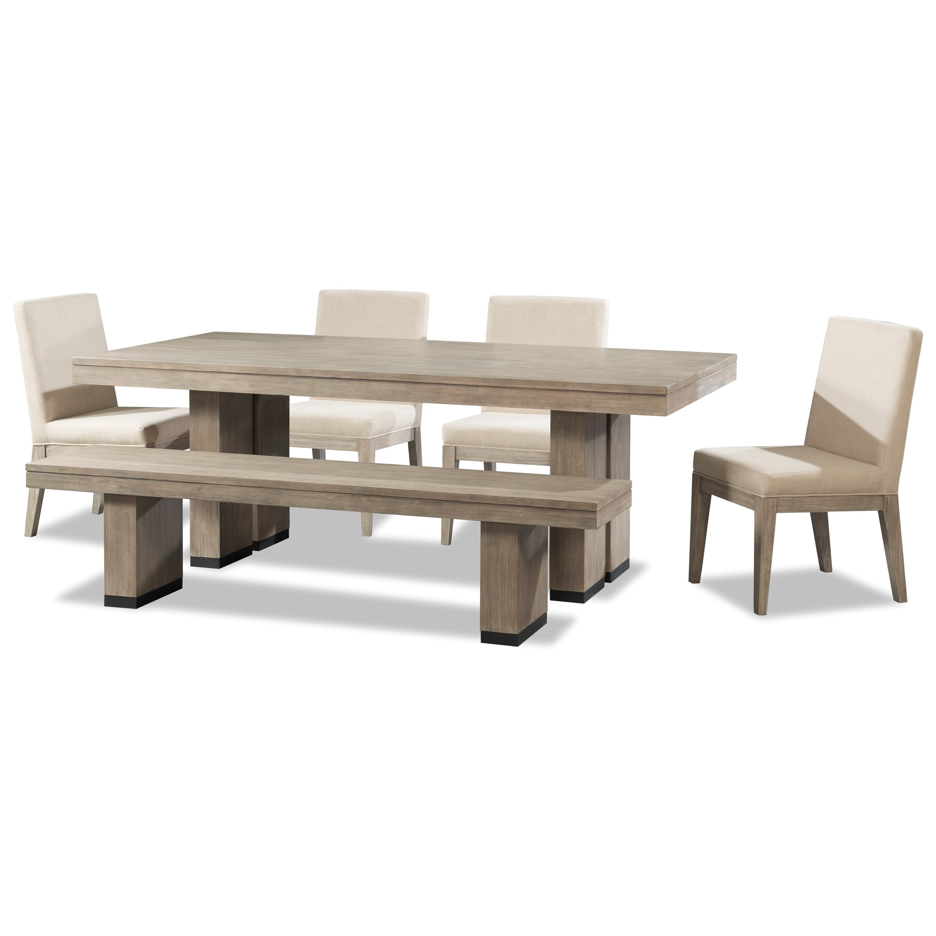 Cresent Fine Furniture Larkspur 6 Piece Trestle Table and  : products2Fcresentfinefurniture2Fcolor2Flarkspur20503503 1502B4x1572B159 b1 from www.belfortfurniture.com size 3200 x 3200 jpeg 553kB