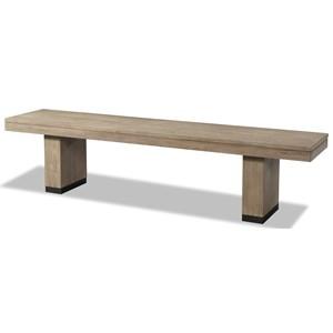 Cresent Fine Furniture Larkspur Dining Bench