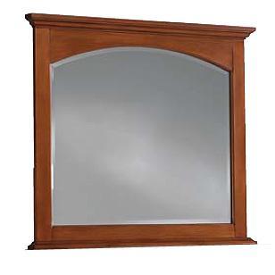 Cresent Fine Furniture Cresent Classics - Modern Shaker Landscape Mirror - Item Number: 13-02
