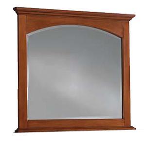 Cresent Fine Furniture Cresent Classics - Modern Shaker Landscape Mirror