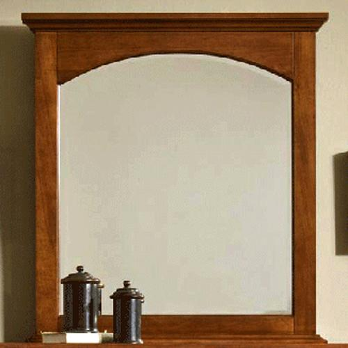 Cresent Fine Furniture Cresent Classics - Modern Shaker Small Mirror - Item Number: 1304
