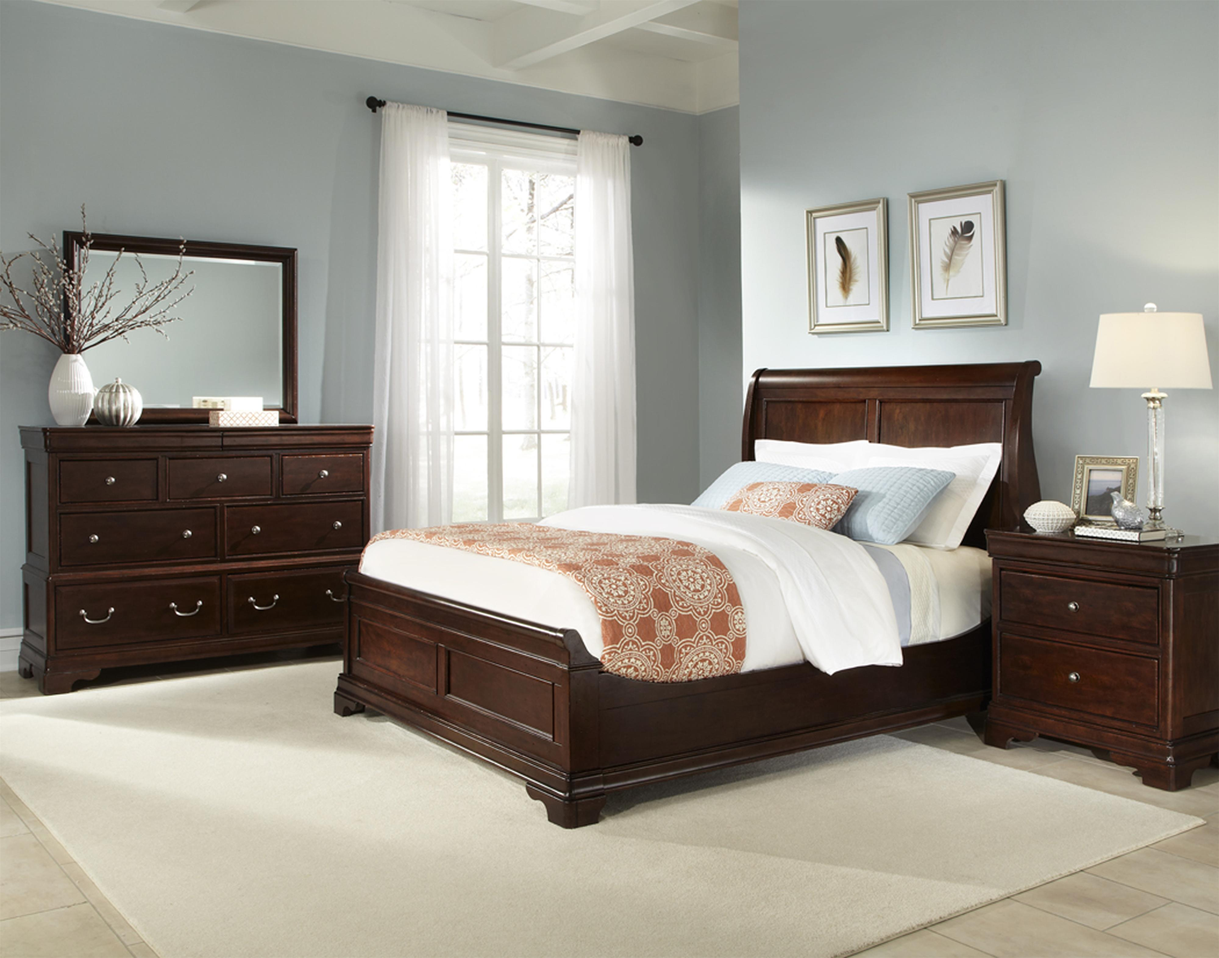 Cresent Fine Furniture Provence Queen Bedroom Group - Item Number: 1700 Q Bedroom Group 2