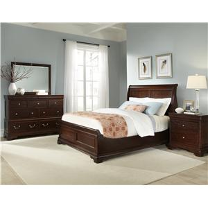 Cresent Fine Furniture Provence King Bedroom Group