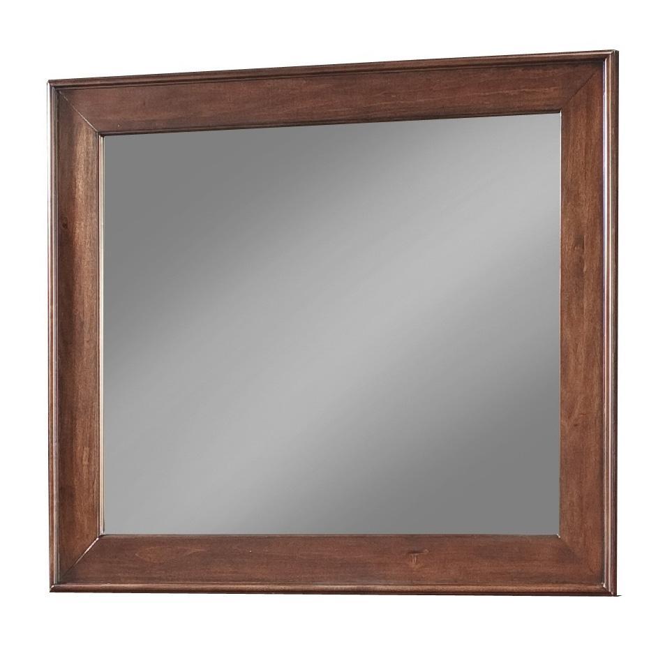 Cresent Fine Furniture Retreat Cherry Mirror - Item Number: 1502
