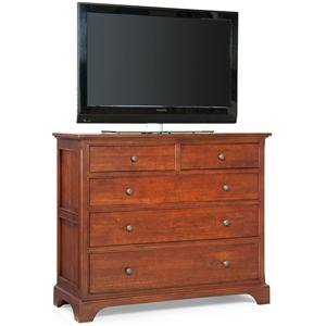 Cresent Fine Furniture Retreat Cherry Media Dresser