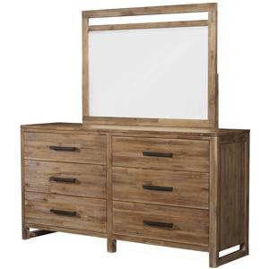 Cresent Fine Furniture Waverly Dresser & Mirror