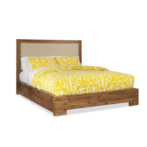 Cresent Fine Furniture Waverly King Upholstered Bed w/ Storage