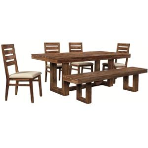 Cresent Fine Furniture Waverly 6 Piece Set