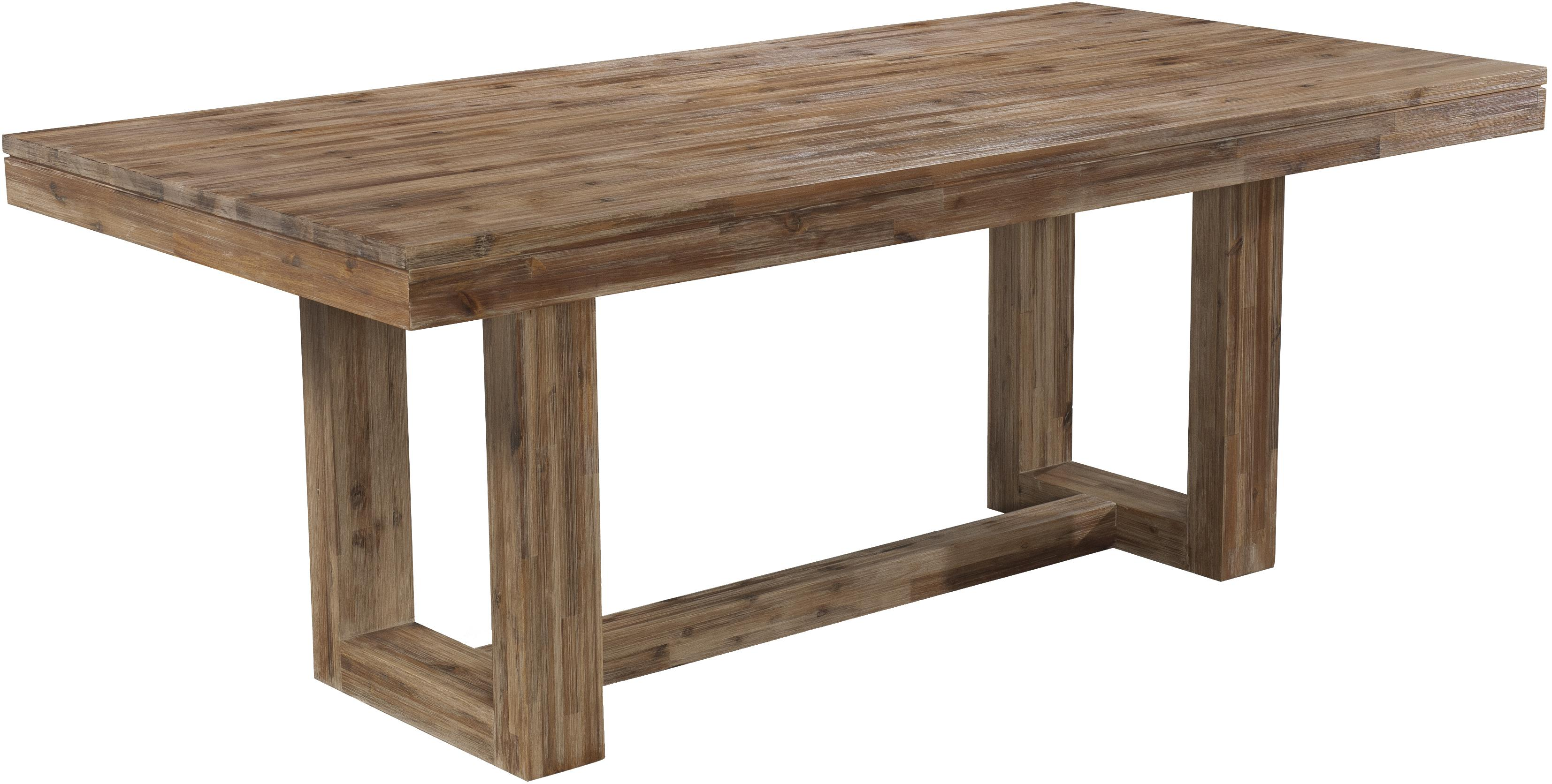 Charmant Cresent Fine Furniture Waverly Modern Rectangular Dining Table With Rustic  Trestle Base   AHFA   Kitchen Table Dealer Locator