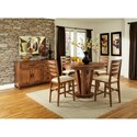 Cresent Fine Furniture Waverly 5 Piece Counter Height Table and Chair Set