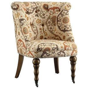 Crestview Collection Accent Furniture Hutchison Pattern Chair