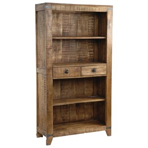 Crestview Collection Accent Furniture Bengal Manor Mango Wood Bookcase