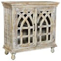 Crestview Collection Accent Furniture Bengal Manor Light Mango Wood Cabinet - Item Number: CVFNR332
