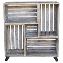 Crestview Collection Accent Furniture Bengal Manor Mango Wood Reclaimed Crates Boo - Item Number: CVFNR340