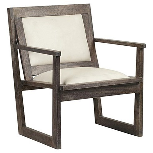 Accent Furniture Bengal Manor Charcoal Grey Mango Wood Accent by Crestview Collection at Factory Direct Furniture