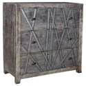 Crestview Collection Accent Furniture Mango Wood 3 Drawer Chest - Item Number: CVFNR451