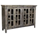 Crestview Collection Accent Furniture Acacia Wood 4 Door Sideboard - Item Number: CVFNR453