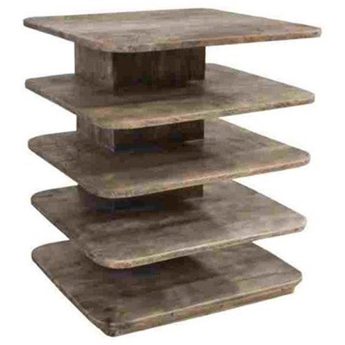 Accent Furniture Mango Wood Tiered Accent Table by Crestview Collection at Factory Direct Furniture