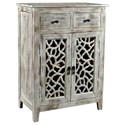 Crestview Collection Accent Furniture Mango Wood 2 Drawer Cabinet - Item Number: CVFNR469