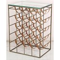 Crestview Collection Accent Furniture Solid Iron Wine Storage - Item Number: CVFNR480
