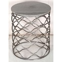Crestview Collection Accent Furniture Solid Iron Accent Table - Item Number: CVFNR483