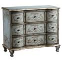 Crestview Collection Accent Furniture Garland 3-Drawer Chest - Item Number: CVFZR079