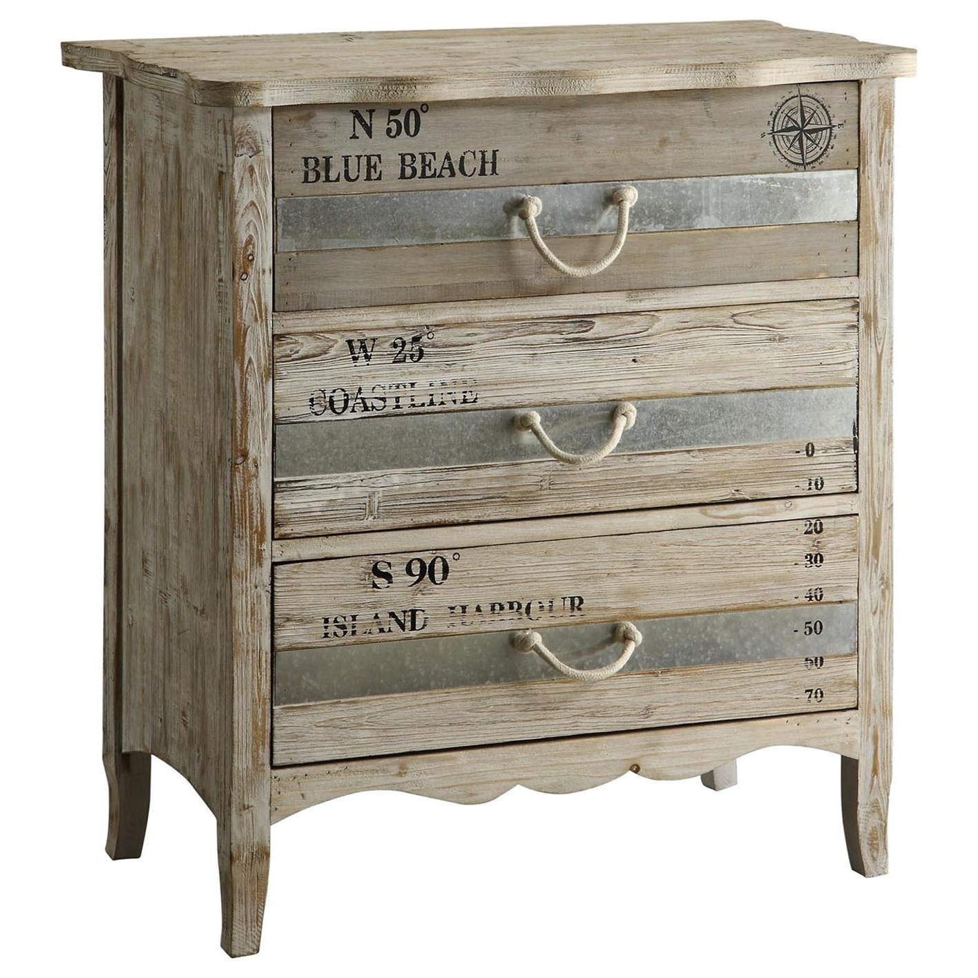 Accent Furniture Grand Isle Chest by Crestview Collection at Factory Direct Furniture