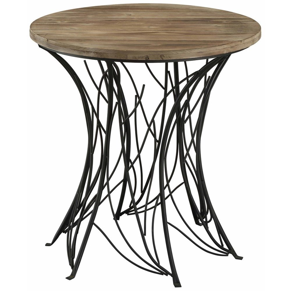 Spring Creek Metal And Weathered Wood Accent