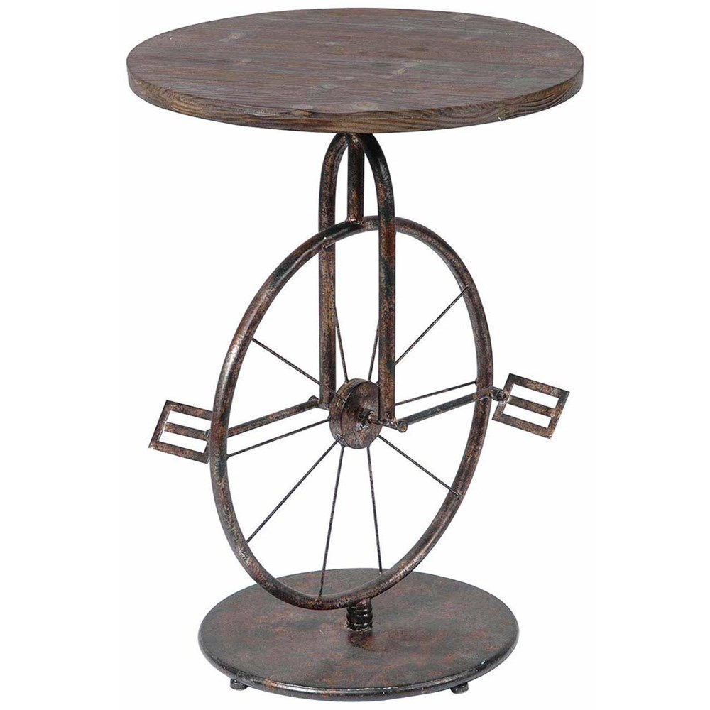 Sierra Bicycle Accent Table