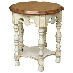 Crestview Collection Accent Furniture Somerset Two Tone Accent Table