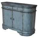 Crestview Collection Accent Furniture Harrison Distressed Grey 2 Door Cabinet - Item Number: CVFZR1453