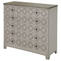 Crestview Collection Accent Furniture Springfield 4 Drawer Nailhead Chest - Item Number: CVFZR1510