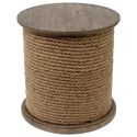 Crestview Collection Accent Furniture Baytowne Rope Accent Table - Item Number: CVFZR1531
