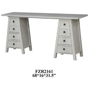 Crestview Collection Accent Furniture Abbington Brushed Frame Console