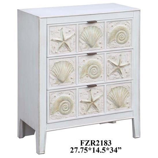 Accent Furniture Sanibel Island Chest by Crestview Collection at Factory Direct Furniture