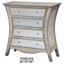 Crestview Collection Accent Furniture Danielle Curved Chest - Item Number: CVFZR2218