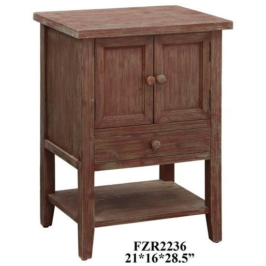 Accent Furniture Cross Creek Accent Chest by Crestview Collection at Factory Direct Furniture